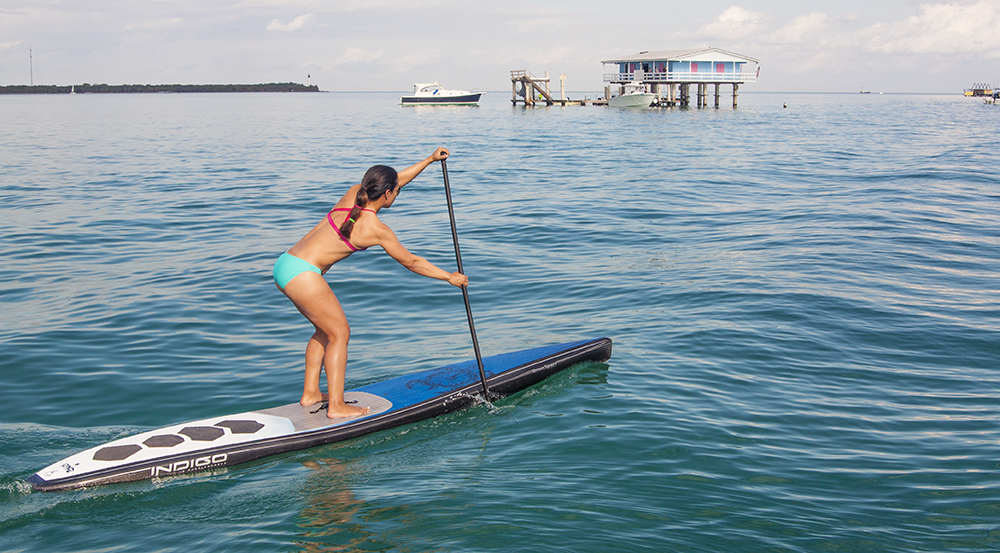 Stiltsville is one of those amazing places to paddle the gransport