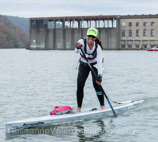 Chattajack 1st place woman 14' class Lizi Ruiz Indigo Boards Team