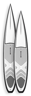 Indigo GRan Sport SUP Race Paddleboards Custom SUP Boards
