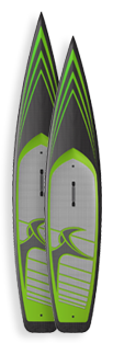 Indigo Seagull SUP Race Paddleboards Custom SUP Boards