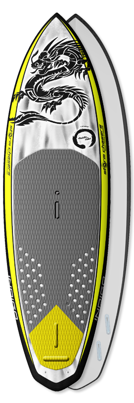 Recreational Paddleboard - Indigo Storm Chasers Paddleboard - Custom SUP board design by Indigo-SUP made in the USA