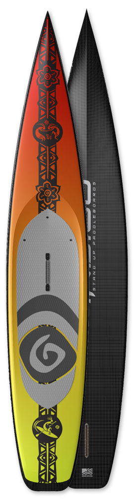 Stand up Paddleboards Seagull Indigo Race Board custom made USA