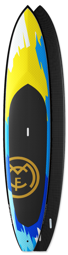 Tiger SUP Boards Indigo Carbon Innegra custom boards made in the USA