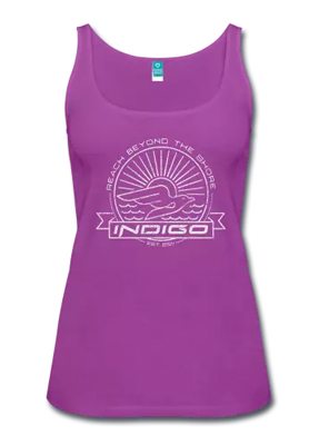 Blue Marlin Race & Touring Paddleboard: Indigo Paddle Boards handcrafted custom made in the USA