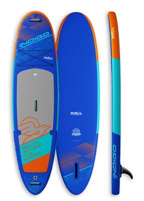Manatee Air Inflatable & Touring Paddleboard: Indigo Paddle Boards handcrafted custom made in the USA