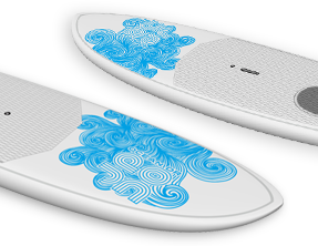 Paddle Surf & Recreational SUP custom Indigo Board