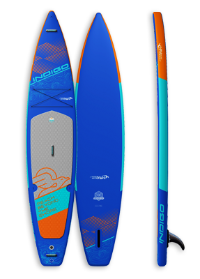 Seagull Air Inflatable & Touring Paddleboard: Indigo Paddle Boards handcrafted custom made in the USA