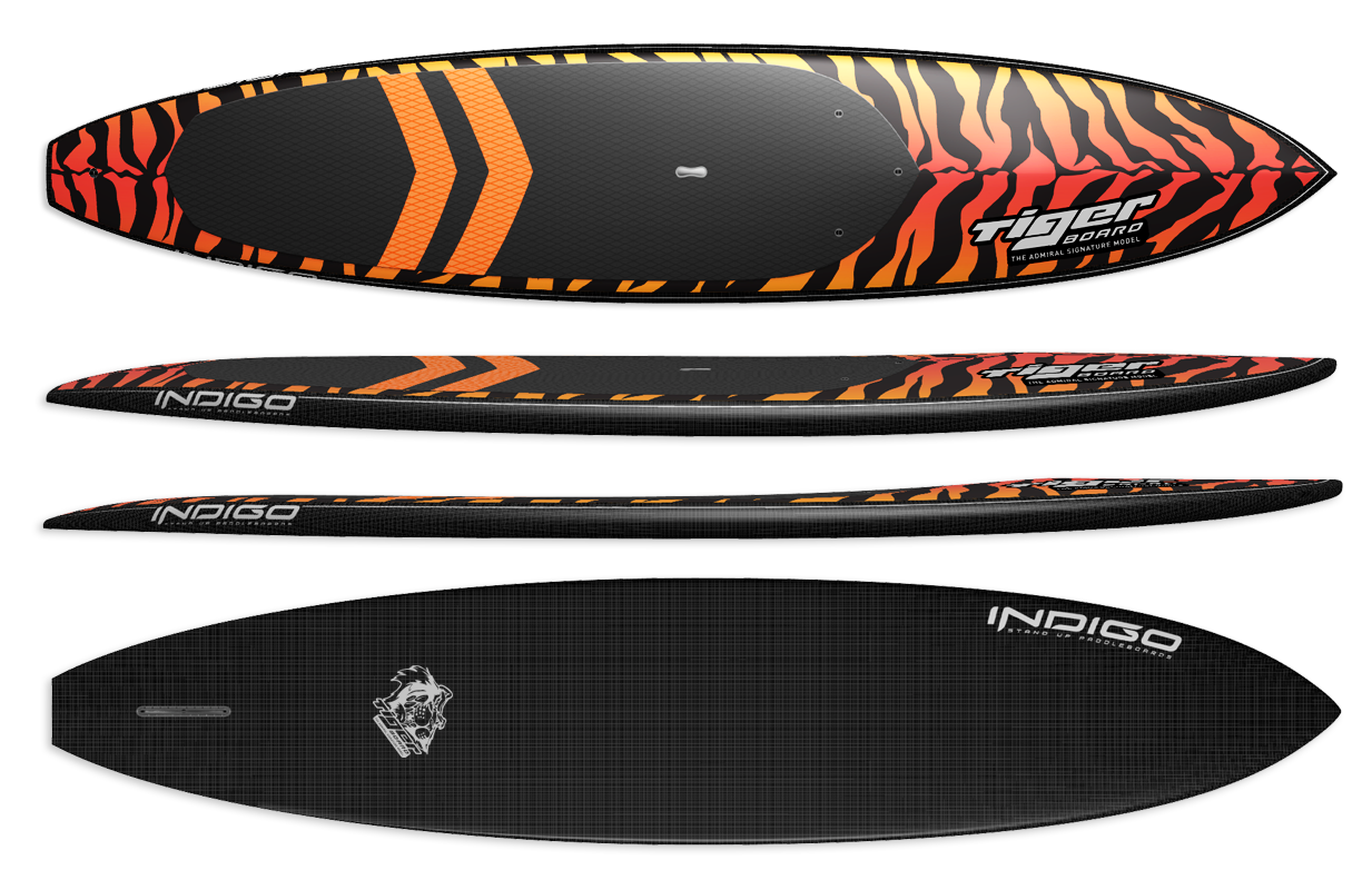 Barracuda Paddleboard by Indigo SUP SUP Boards | Indigo touring race sup board tiger Stand Up Paddleboards