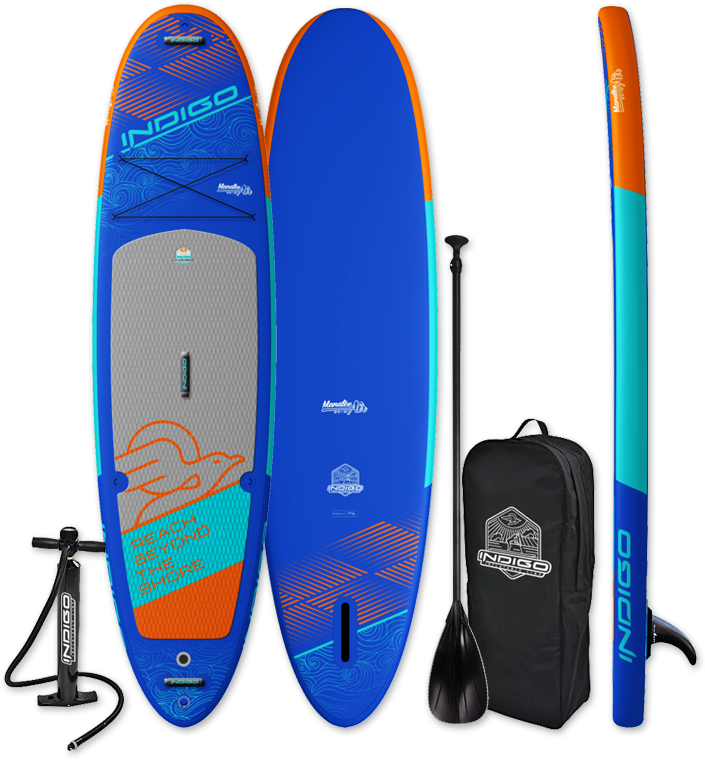 iSUP Manatee Air - All Around paddle board form INDIGO SUP