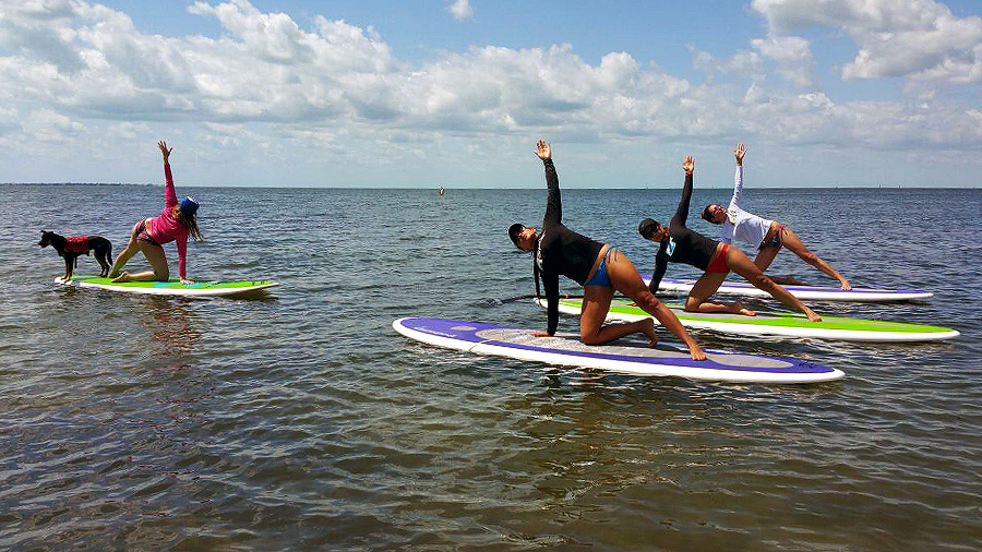 SUP Yoga Indigo Paddleboards Custom SUP