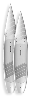 Indigo Barracuda SUP Racing Paddleboards Custom SUP Boards