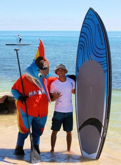 Art by the Sea with indigo SUP Indigo Paddleboards Stand Up Paddleboards