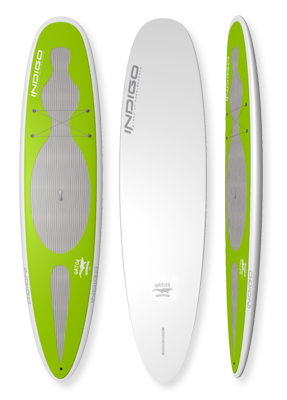 Gator Softtop Recreational Paddleboard: Indigo Paddle Boards handcrafted custom made in the USA
