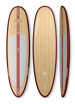 Manatee Native Recreational Paddleboard: Indigo Paddle Boards handcrafted custom made in the USA