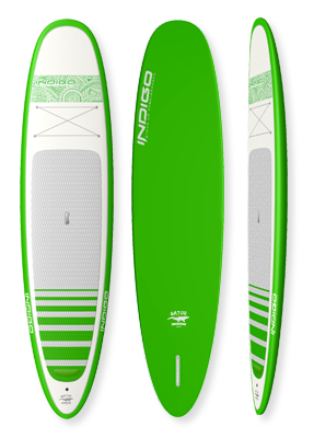 Gator Vintage Recreational Paddleboard: Indigo Paddle Boards handcrafted custom made in the USA