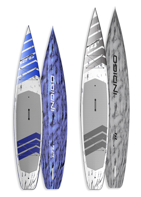 Barracuda Race & Touring Paddleboard: Indigo Paddle Boards handcrafted custom made in the USA