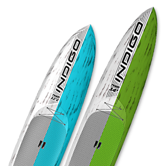 SUP Indigo Race Boards Stand Up Paddleboards Indigo Custom made Boards